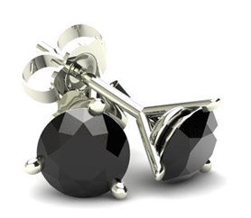 Black Round Diamonds