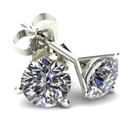 White Round Diamonds