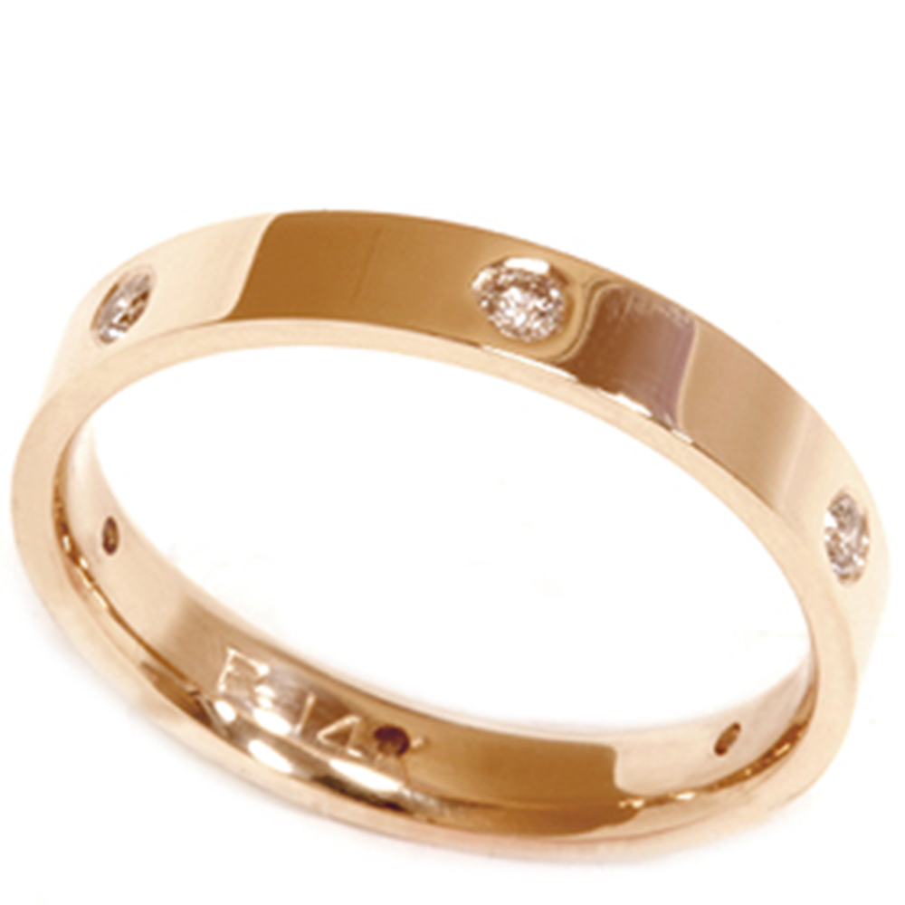yellow gold diamond eternity wedding anniversary ring ebay. Black Bedroom Furniture Sets. Home Design Ideas
