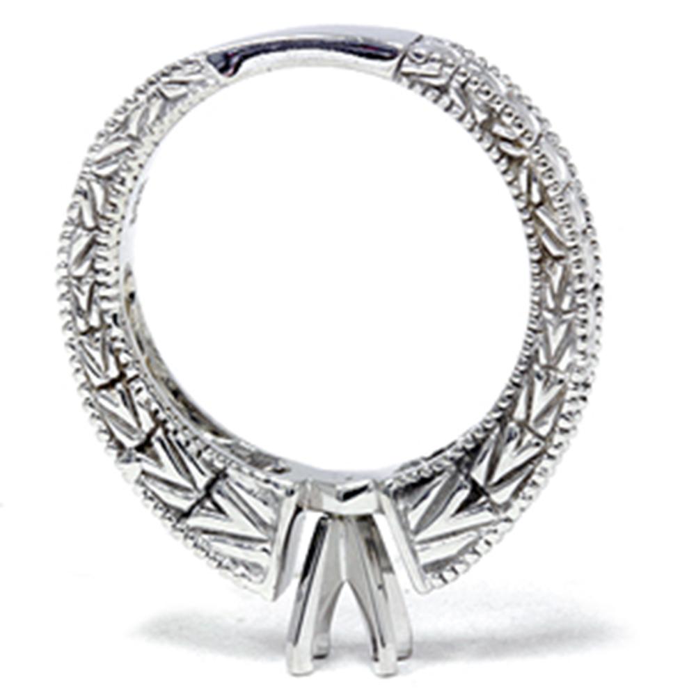 1 4ct Diamond Engagement Antique Like Ring Setting 14K