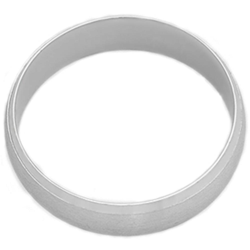 Mens Platinum Wedding Rings: Platinum Wedding Band Mens Brushed Beveled Ring
