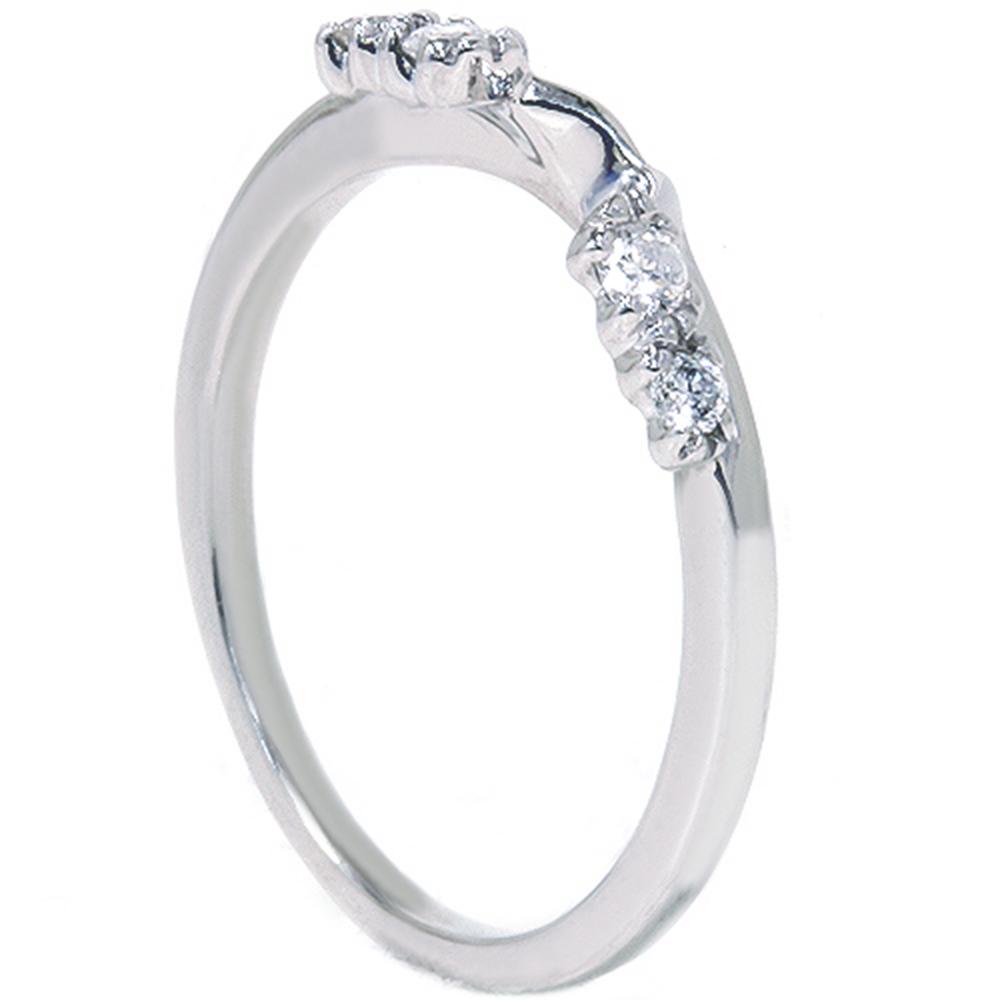 1 5ct enhancer ring 14k white gold