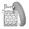 pave setting